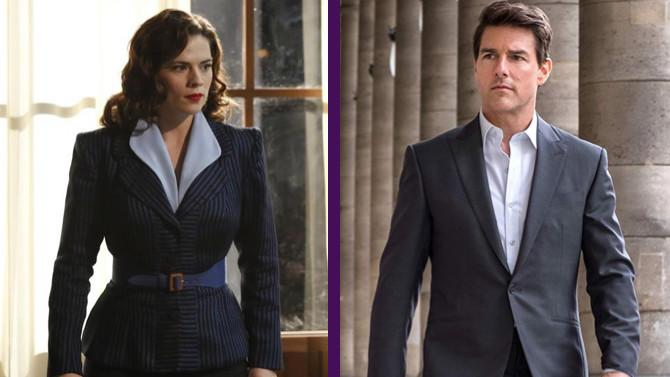 Hazte a un lado, Ethan Hunt: Hayley Atwell protagonizará Misión Imposible 7 junto a Tom Cruise. (Imágenes: Kelsey McNeal & ABC - © 2015 American Broadcasting Companies, Inc. All rights reserved / © 2018 Paramount Pictures. All rights reserved)