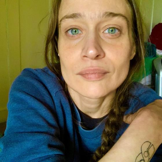 Fiona Apple staring into the camera