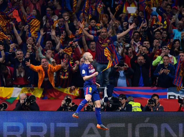 France Football apologises to Andres Iniesta for never awarding Barcelona and Spain legend Ballon d'Or