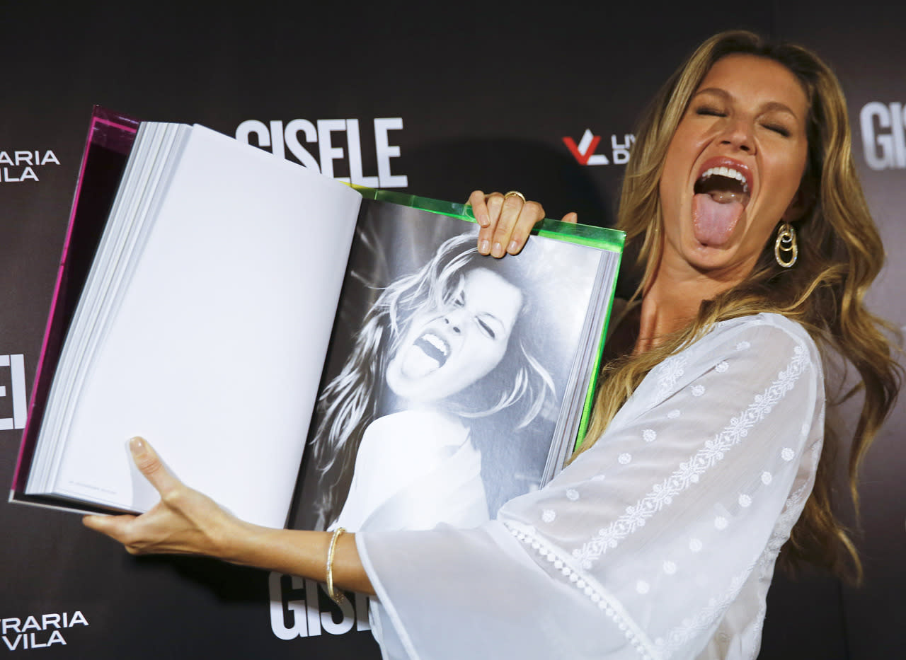 Buy Bundchens gisele book worth $700 sold out! picture trends