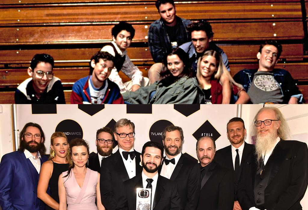 "<p>True, this high school dramedy lasted only one season, but it remains one of the most influential flops ever. Not just because it introduced us to the storytelling genius of series creator Paul Feig and EP Judd Apatow, but because of the future all-star cast. Rogen, Segel, and Franco — who played slacker ""freaks"" Ken, Nick, and Daniel — went on to big-screen success, while castmates Linda Cardellini (as freak and geek Lindsay), John Francis Daley (as geek Sam), Martin Starr (as the most endearing geek, Bill), and Busy Philipps (as freak Kim) went on to star in hit series, including <em>ER</em>, <em>Bones</em>, <em>Silicon Valley</em>, and <em>Cougar Town</em>. (Photo: Getty Images/NBC/Everett Collection) </p>"