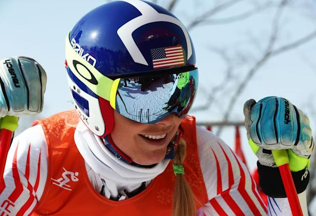 Lindsey Vonn, American athlete. (Getty)