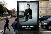 Teacher Samuel Paty was beheaded after showing his pupils cartoons of the Prophet Mohammad in a discussion of free speech