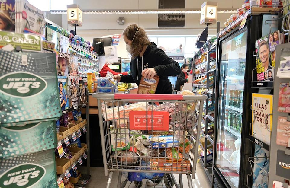 <p>Of the respondents, 9% said couriers have unsafely handled their groceries.</p>