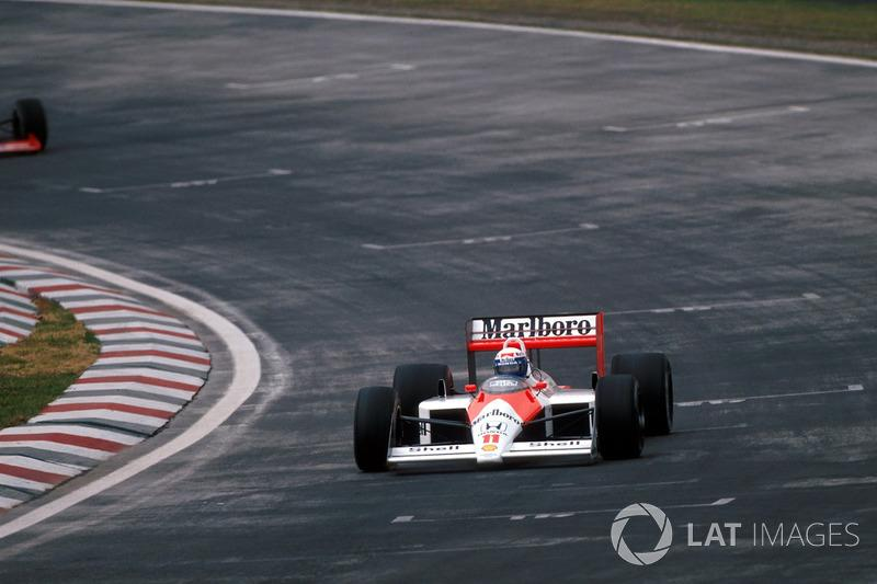 "Alain Prost - McLaren MP4 / 4-Honda - GP de México 1988<span class=""copyright"">Sutton Motorsport Images</span>"