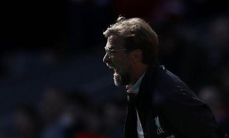 Britain Soccer Football - Liverpool v Everton - Premier League - Anfield - 1/4/17 Liverpool manager Juergen Klopp Action Images via Reuters / Carl Recine Livepic