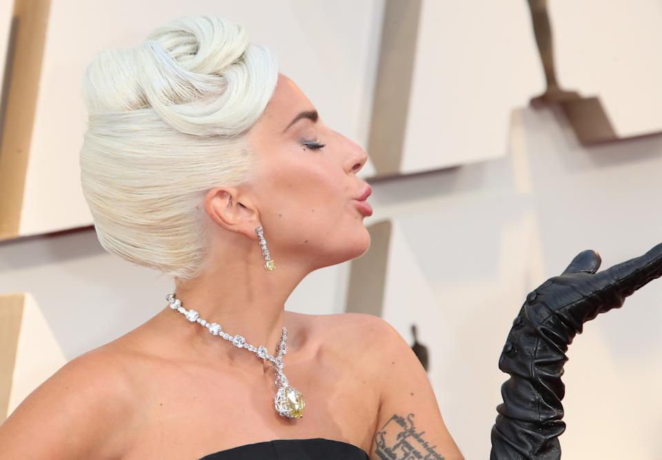 Lady Gaga attends the 91st Annual Academy Awards at Hollywood and Highland on February 24, 2019 in Hollywood, California. (Photo by Dan MacMedan/Getty Images)