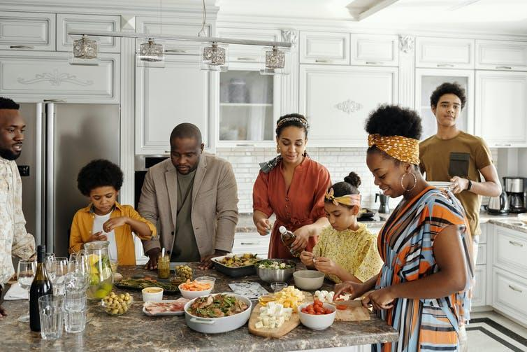 """<span class=""""caption"""">Get everyone in your house together for a 'special switch-off' family meal.</span> <span class=""""attribution""""><span class=""""source"""">Pexels</span></span>"""