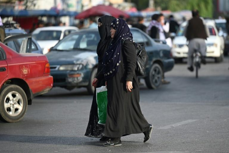 Many Afghans are terrified of a repeat of the Taliban's initial rule from 1996-2001, infamous for their treatment of girls and women (AFP/Aamir QURESHI)