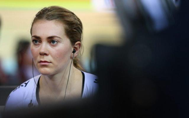<span>Jess Varnish has complained of bullying and sexism in cycling</span> <span>Credit: GETTY IMAGES </span>