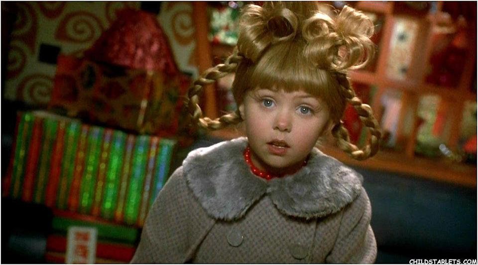 <p>Momsen starred alongside Jim Carrey as the ever-optimistic Cindy Lou Who in the 2000 film version of Dr Seuss's book. </p>