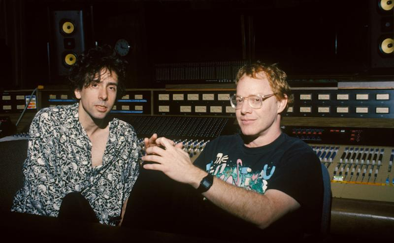 Tim Burton and Danny Elfman in 1993. (Photo: Touchstone Pictures/Sunset Boulevard/Corbis via Getty Images)