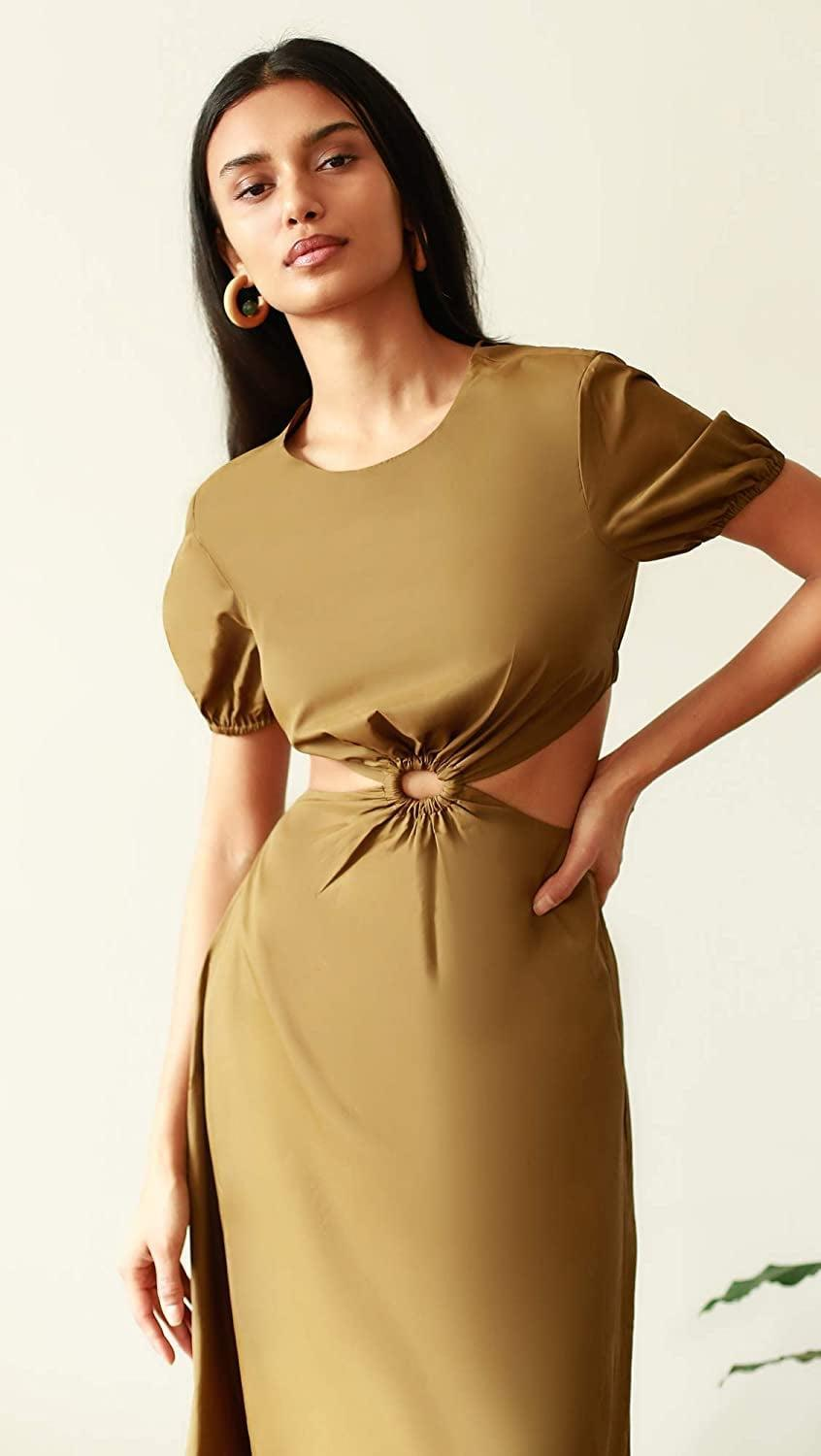 <p>This <span>STAUD Calypso Dress</span> ($325) is a must in your summer closet. You'll look and feel good in it.</p>