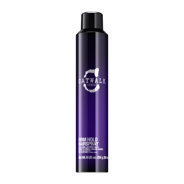 "<p>Like scaffolding in a bottle, TIGI's firm hold hairspray props up everything from gravity defying quiffs to perfectly styled tousles, all without enveloping you in a cloud of straight alcohol. Oh, and we're <em>so </em>here for the mirror-like shine it leaves behind. </p><p><a href=""http://www.feelunique.com/p/TIGI-Catwalk-Your-Highness-Volume-Collection-Hard-Hold-Hairspray-300ml"" rel=""nofollow noopener"" target=""_blank"" data-ylk=""slk:Feelunique"" class=""link rapid-noclick-resp"">Feelunique</a> - £14.95</p>"
