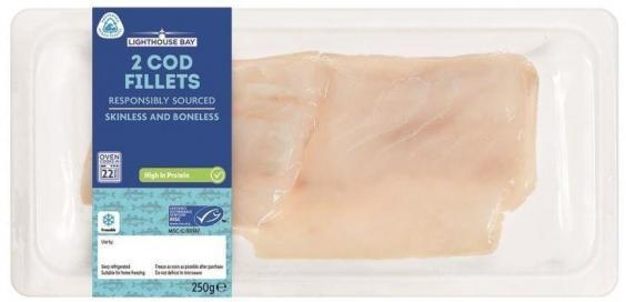 """New packaging is made using """"ocean bound plastic"""" collected from beaches (Lidl)"""