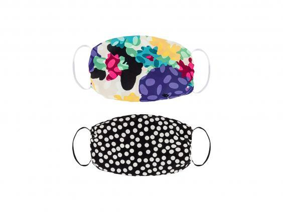 There's an array of prints, colours and patterns to shop from when it comes to face masks (Revolve)