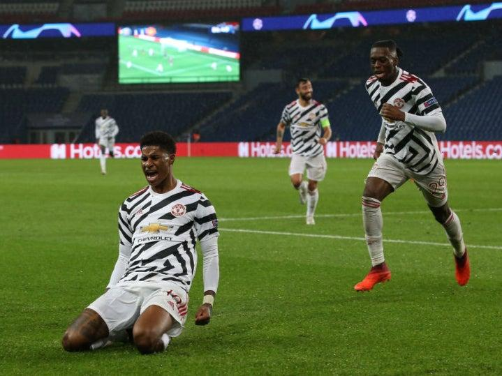 Rashford scored the late winner in ParisGetty