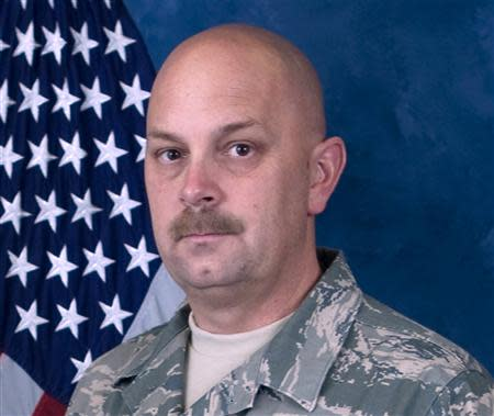 Nevada National Guard photo of Master Sgt. Michael Landsberry, killed during school shooting in Nevada middle school