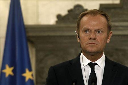 O presidente do Conselho Europeu, Donald Tusk.