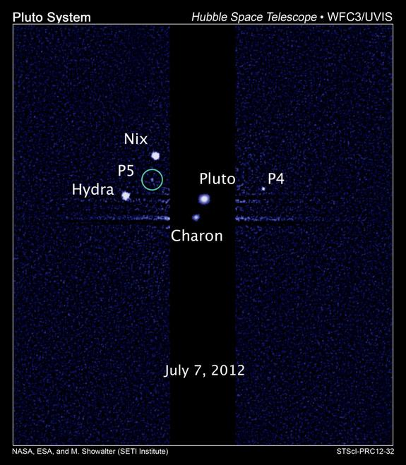 Pluto's Moons (and Maybe Rings) Pose Risk for NASA Spacecraft