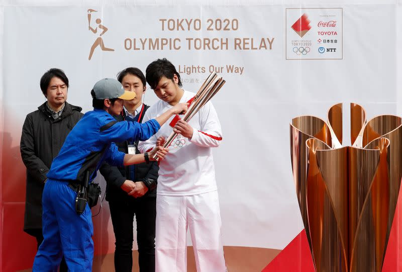 Tokyo 2020 holds torch relay rehearsal