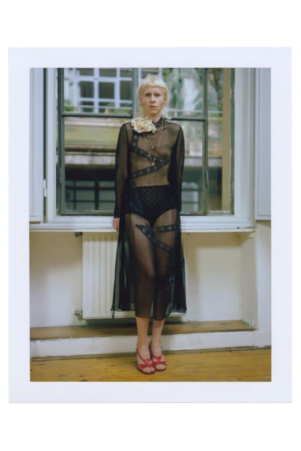 """<p>A look from Gucci's """"Ouverture of Something That Never Ended: Episode 5."""" Photo: Gus Van Sant/Courtesy of Gucci</p>"""