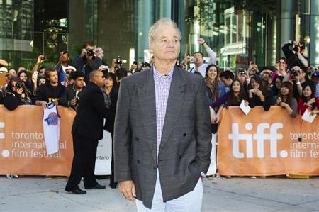 Actor Bill Murray arrives for the gala presentation for the film 'Hyde Park on Hudson' during the 37th Toronto International Film Festival