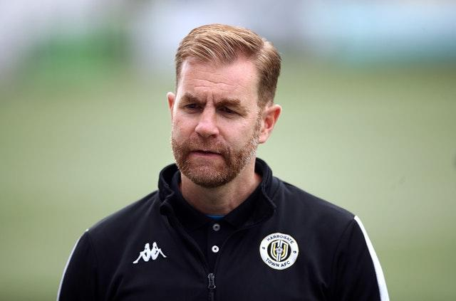 Harrogate Town manager Simon Weaver will be looking forward to life in League Two