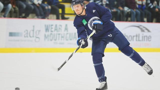 Appleton, Bourque comfortable and confident after first practice of camp