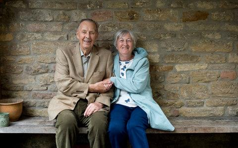 Graham Harris, 35 years in Village and Gloria Warren, 42 years in village also share a newly discovered ancestor - Credit: David Rose