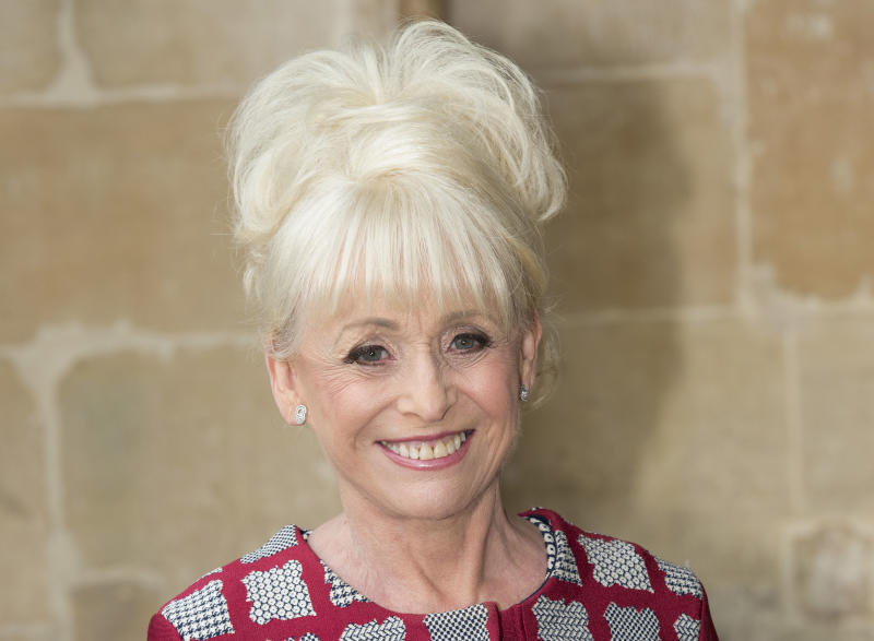 LONDON, ENGLAND - JUNE 07: Barbara Windsor attends a memorial service for comedian Ronnie Corbett at Westminster Abbey on June 7, 2017 in London, England. Corbett died in March 2016 at the age of 85. (Photo by Mark Cuthbert/UK Press via Getty Images)