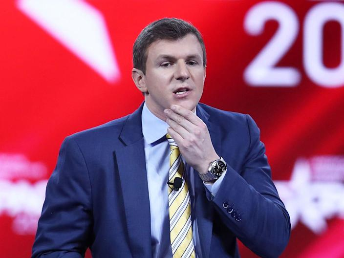 james o keefe project veritas cpac
