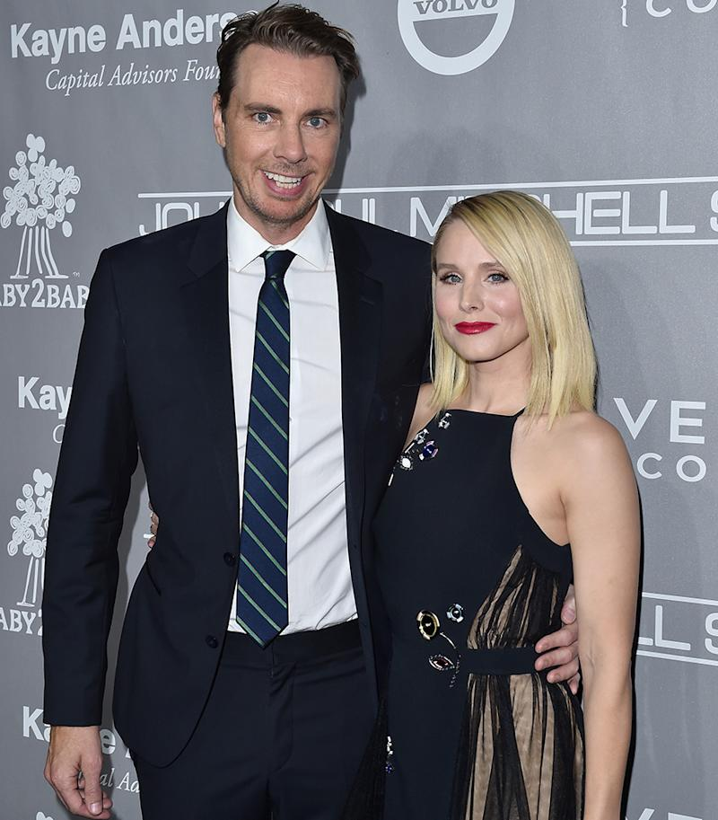 Dax Shepard and Kristen Bell weren't always this happy.