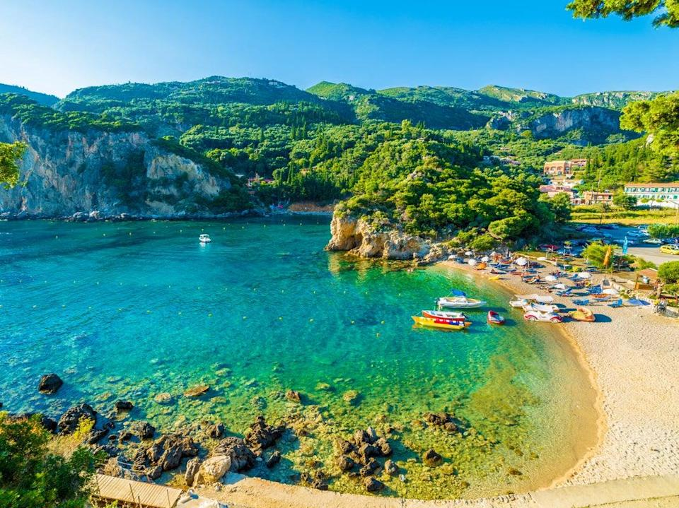 <p>Corfu, Greece: Tourism sector to open from 15 May</p> (Getty Images/iStockphoto)