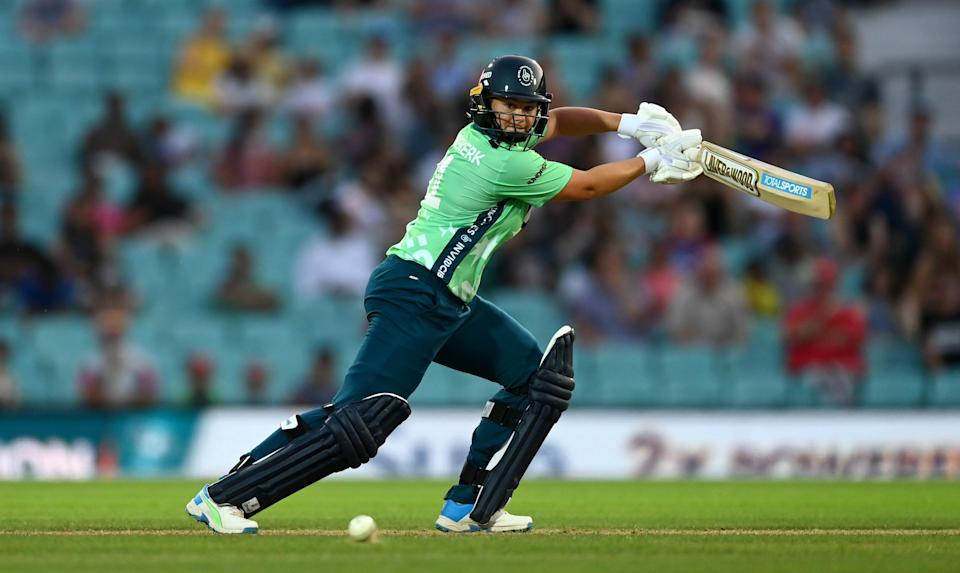 Dane van Niekerk's innings turned the match for the Oval Invincibles. (Getty Images)