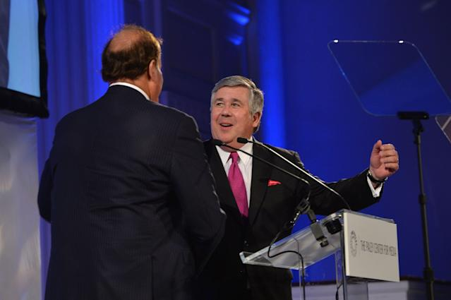 Bob Ley is continuing his 'Outside the Lines' sabbatical indefinitely. (Getty Images)
