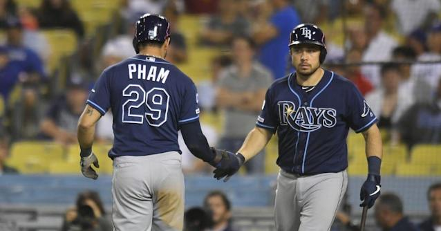 Rays: 8, Dodgers: 7- Extra Innings Win!