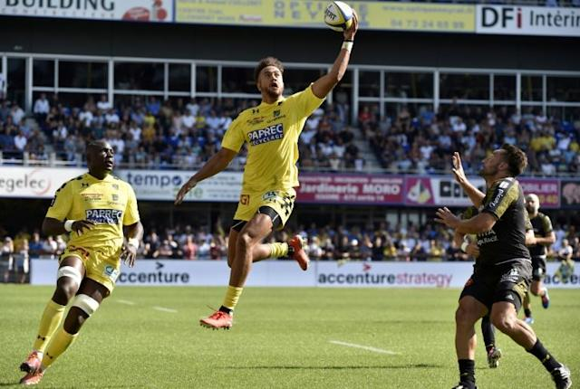 Peter Betham scored 18 tries in 25 games for Clermont last season (AFP Photo/THIERRY ZOCCOLAN)