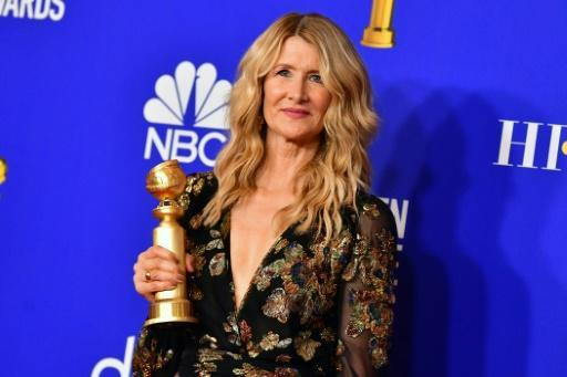 """US actress Laura Dern was the lone film Golden Globe winner for Netflix for her turn in """"Marriage Story"""""""