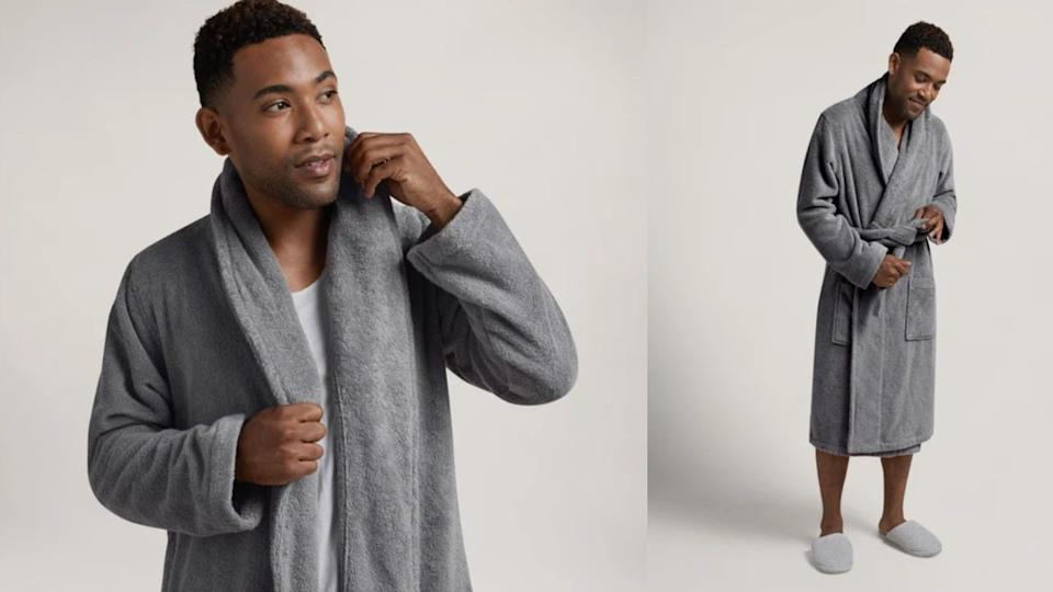 The best Christmas gifts for men: Parachute classic bathrobe