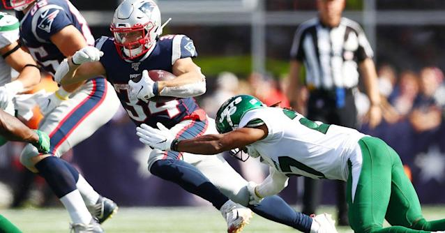 Patriots downgrade Rex Burkhead to 'out' against Jets