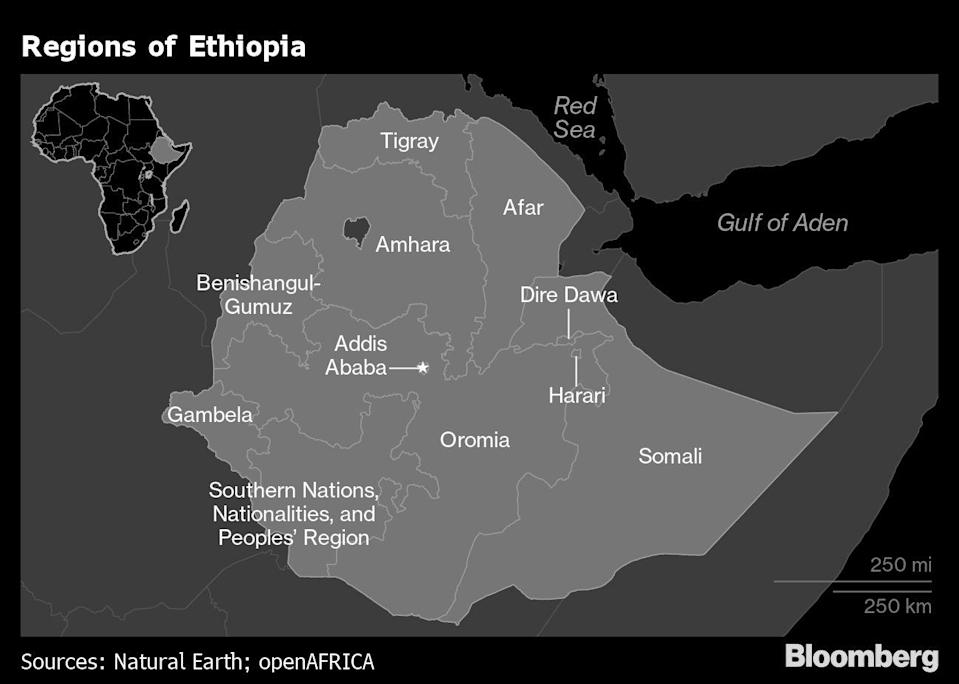Ethiopia Says It's Seized Control of Most of Rebel Tigray Region
