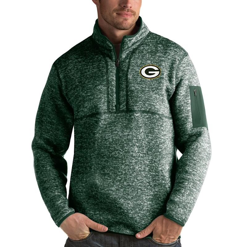 Men's Packers Quarter-Zip Pullover