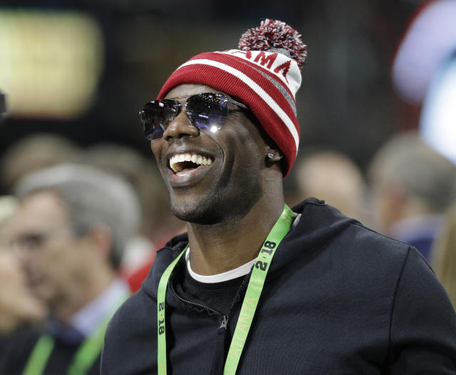 Get your popcorn ready on Aug. 4, when Terrell Owens will be the star of his own Hall of Fame ceremony outside of Ohio. (AP)