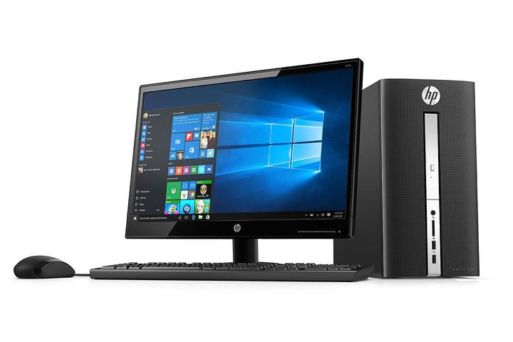 HP PAVILION DESKTOP BUNDLE W/ 24″ LED MONITOR