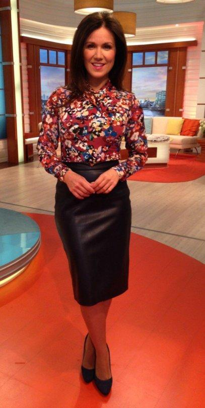 Leather Skirts On Tv