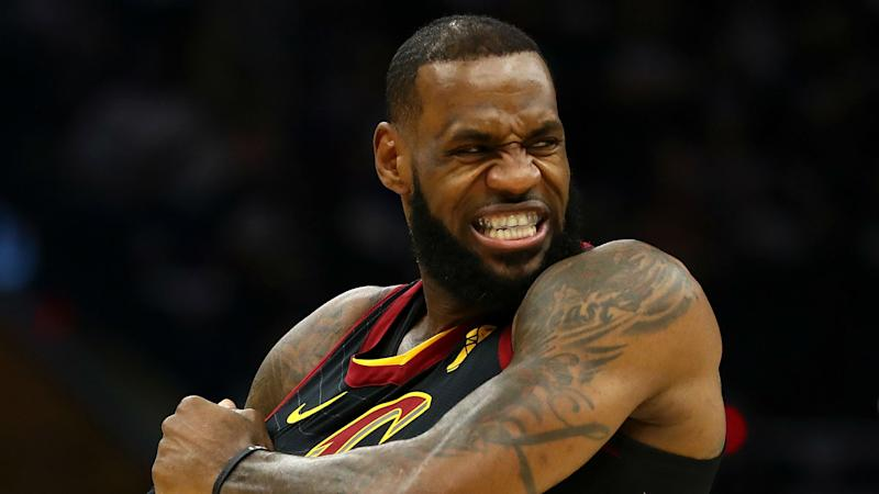 786be73f19ea LeBron James denies he was blindsided by question on Popovich s wife
