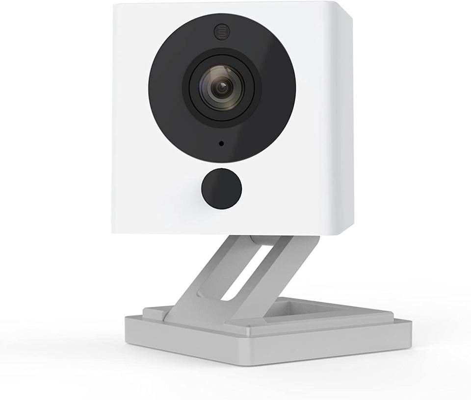 <p>Stay safe and secure with the <span>Wyze Cam</span> ($26). It's a smart home camera with night vision and 2-way audio! </p>