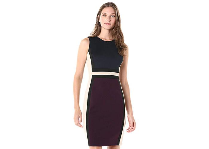 Calvin Klein is known for flattering work-ready dresses and some of the best underwear. (Photo: Amazon)