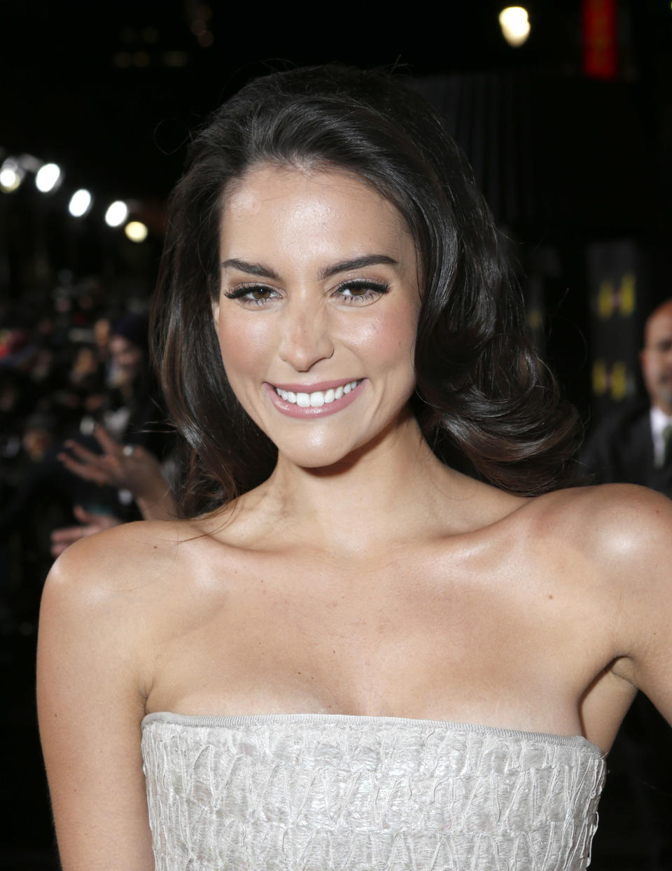 FILE - This Jan. 14, 2013 file photo shows actress Genesis Rodriguez at the LA premiere of